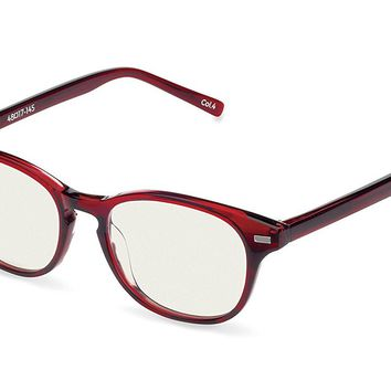 Reading Glasses - Hermes Blue Light Blocking Computer and Gamer Glasses for Men and Women with Acetate Frames, CR39 lenses - FDA and CE Approved - Magnification Strength 0 to +2
