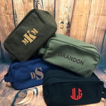 Men's Toiletry Bag - Monogrammed