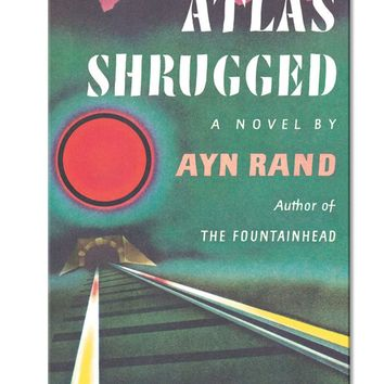 Ayn Rand Atlas Shrugged Paperback Book