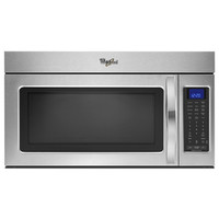 Shop Whirlpool 30-in 1.9-cu ft Over-the-Range Microwave with Sensor Cooking Controls (Stainless Steel) at Lowes.com