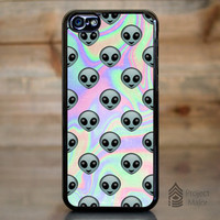 Alien Emoji Hologram Holographic *Style Case / Cover for Apple iPhone 5c