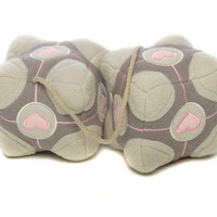 J!NX : Portal 2 Weighted Companion Cube Fuzzies