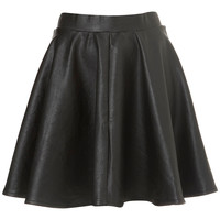 Black Full Skater Skirt - Skirts - Going Out - Collections - Topshop USA