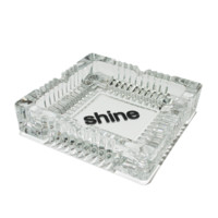 Large Glass Ashtray by Shine Papers