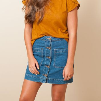 Free People - Don't Get Me Wrong Skirt