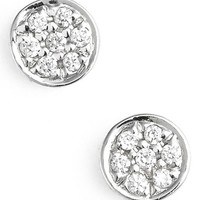 Women's Bony Levy 'Aurora' Diamond Pave Circle Stud Earrings (Nordstrom Exclusive)