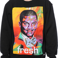 Neff x Mad Steez Weenlton Black Crew Neck Sweatshirt
