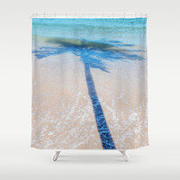 TREE IN SEA Shower Curtain by Catspaws | Society6