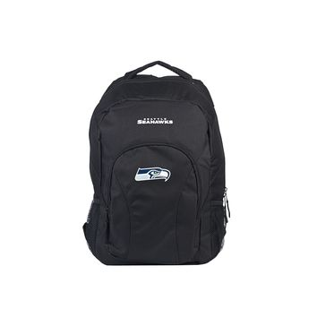 "Seahawks OFFICIAL National Football League, """"Draft Day"""" 18""""H x 10"""" (12"""" Back) Backpack  by The Northwest Company"