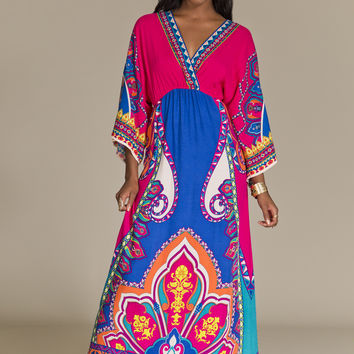 Printed Flowy maxi Dress