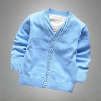 1-6T New Fall candy color 100% good quality boys and girls cardigan sweater coat Children's sweater,baby clothing = 1958673540