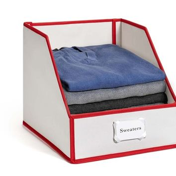 Sweater Bins for Organized Closet Storage Buy 3 or more and save 15%