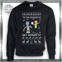 Sweatshirt Rick & Morty Get Schwifty Sweatshirt Womens Sweater Mens