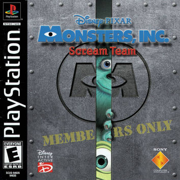 Monsters Inc Scream Team - Playstation (Very Good)