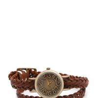 woven-wraparound-watch BROWNGOLD - GoJane.com