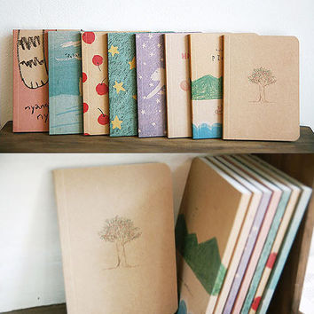 Eco-friendly Pocket Notebook, Planner (restocked!)