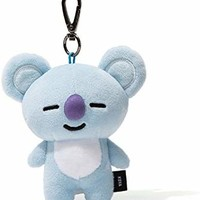 BT21 Koya Pluch Keyring One Size Light Blue