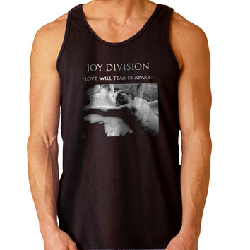 Joy Division Love Will Tear Us Apart For Mens Tank Top Fast Shipping For USA special christmas ***