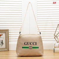 GUCCI & LV Fashion New Letter Stripe Print Shopping Shoulder Bag Women Handbag 4#