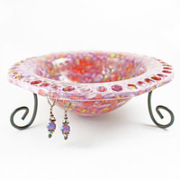 Handmade Ceramic Jewelry Bowl - Jewelry Organizer - Earring Bowl
