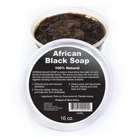 West African Black Soap Paste: 16 oz.