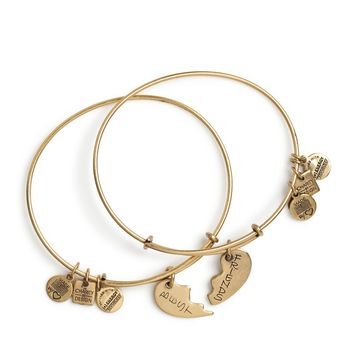 Best Friends Set of 2 Charm Bracelets | Alex and Ani