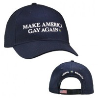 HRC | Human Rights Campaign | Make America Gay Again Cap =