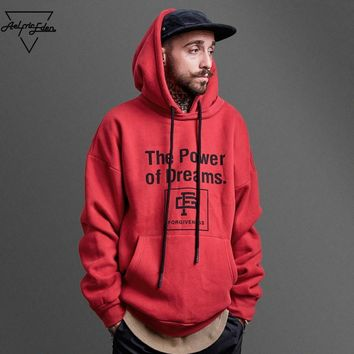 ca qiyif THE POWER OF DREAMS Men Hoodies