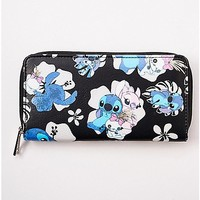 Floral Stitch Wallet - Lilo & Stitch - Spencer's