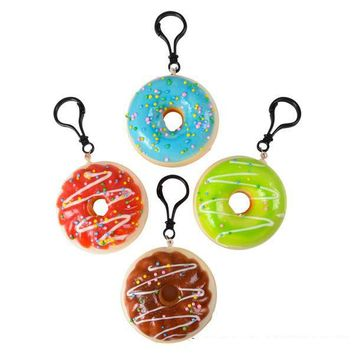 "2.75"" Squishy Donut Clip ons"