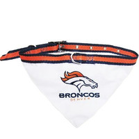 Denver Broncos Bandana Small