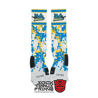 Custom Nike Elite Socks -  UCLA Bruins Custom Nike Elites - UCLA Socks, Custom Elites, UCLA Football, Ucla Basketball