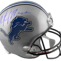 Calvin Johnson Autographed Replica Helmet - Megatron -JSA/SM | Authentic Signed