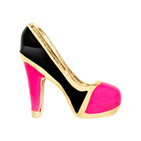 Gold Closed-Toe Heel Charm