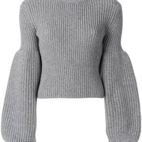 Alexander Wang Puff Sleeve Knit Jumper - Farfetch