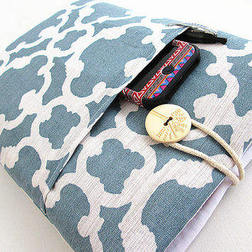 Damask Macbook 11 inch Pocket Sleeve Macbook Air/Pro Case Padded 11 in. Microsoft Surface case, Google Nexus 10. Peace