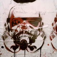 DEATHTROOPERS Red Chrome Texture Version by MrMahaffey on Etsy