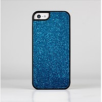 The Blue Sparkly Glitter Ultra Metallic Skin-Sert for the Apple iPhone 5c Skin-Sert Case