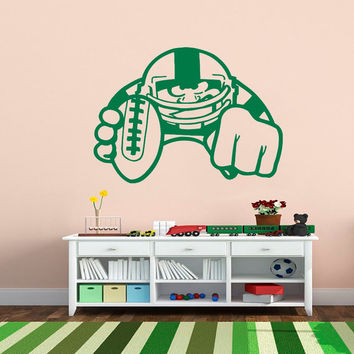 Wall Decals Sport  American Football Footballer Athlete Player Sports Game Sportsman Sporting Event Home Decor Vinyl Decal Sticker  ML125