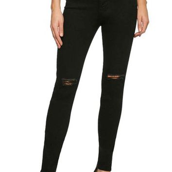 Sanctuary Robbie High Waist Distressed Skinny Jeans (Stiletto) | Nordstrom