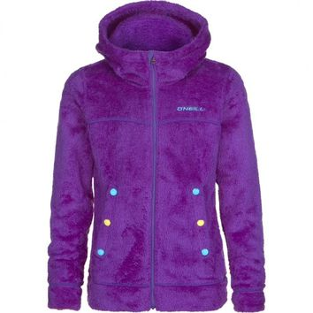 O'Neill Youth Kids Girls Purple Snowboard Ski Fleece Winter Jacket Coat Sz 10