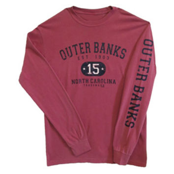 2015 Outer Banks Long Sleeve T-shirt :: Apparel :: Gray's Family Department Store