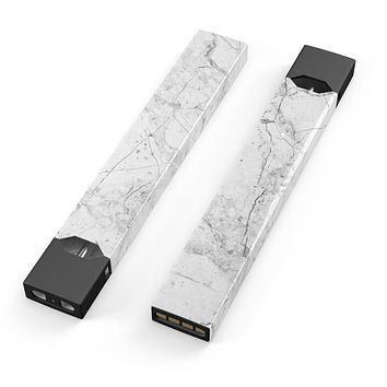 Skin Decal Kit for the Pax JUUL - Cracked Marble Surface