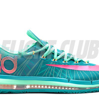 "kd 6 elite ""hero pack"" - trb grn/vvd pnk-nghtshd-lt lcd - Kevin Durant - Nike Basketball - Nike 