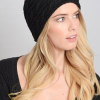 Cable Knit Head Warmer
