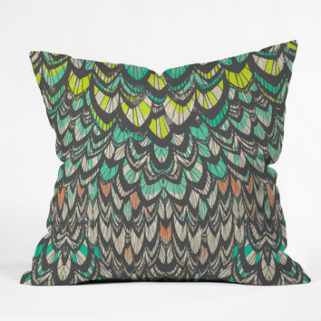 Pattern State Flock Outdoor Throw Pillow