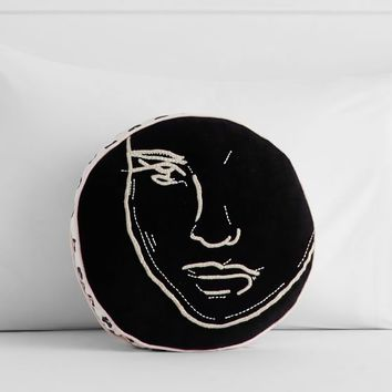 Isabella Rose Taylor Portrait Pillow