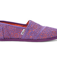 Purple Orange Youth Crochet Classics