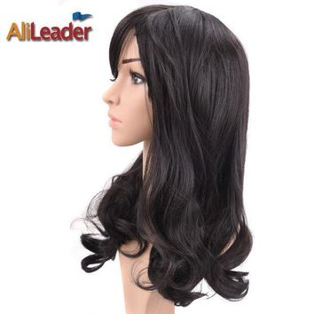 ESB8UH AliLeader Hair Products Short Long Medium Length Wig For Black And White Women, Stock Clearance Synthetic Wigs Heat Resistant