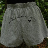 Gray Gym Shorts (Severus Snape  Gray Underpants), Blibbering Humdingers Wizard Rock band, Humorous music for adult Harry Potter fans